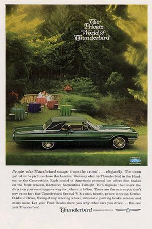 1965 People Who Thunderbird…