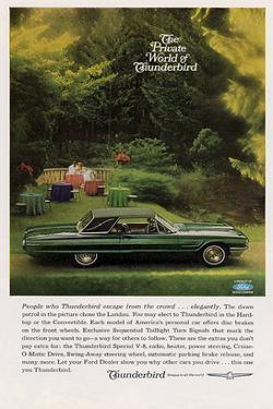 1965 People Who Thunderbird…