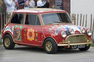 1966 Austin Mini Cooper S owned by Beatle George Harrison