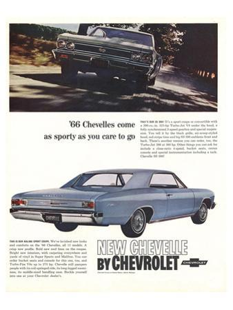1966 GM Chevrolet Chevelles