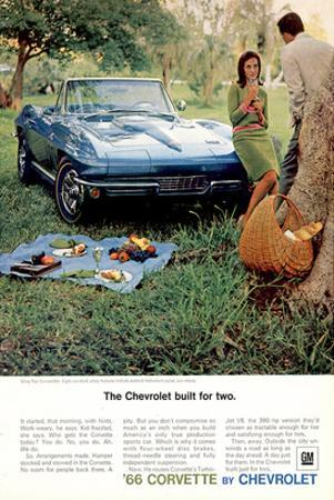 1966 GM Corvette Built for Two