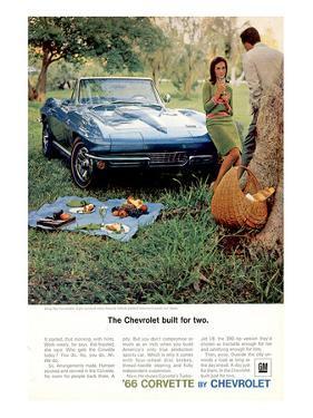 1966 GM Corvette Built for Two