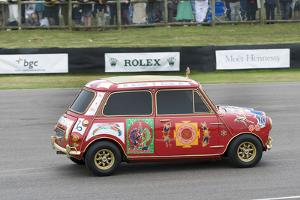 1967 Austin Mini Cooper S owned by Beatle George Harrison