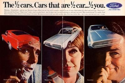 1967 Mustang ½ Cars - ½ You