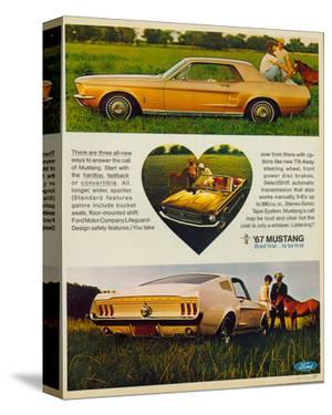 1967 The Call of Mustang