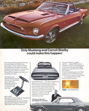 1968 Mustang Carroll Shelby