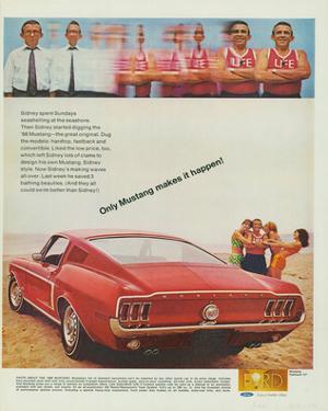 1968 Mustang Makes It Happen