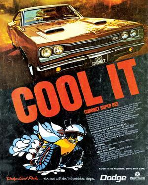 1969 Coronet Super Bee-Cool It