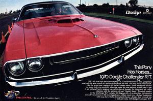 1970 Dodge Challenger Thispony