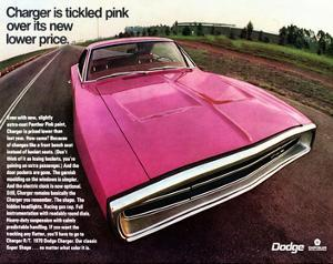 1970 Dodge Charger TickledPink