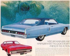 1970 Mercury - Marauder X-100