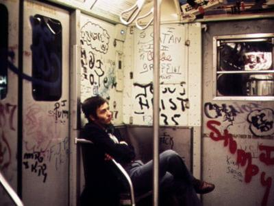 1970s America, Graffiti on a Subway Car, New York City, New York, 1972