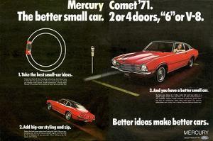 mercury car posters for sale at. Black Bedroom Furniture Sets. Home Design Ideas