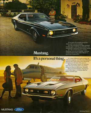 1971 Mustang Part of Yourself
