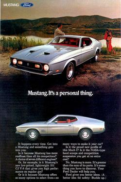 1971 Mustang - Personal Thing