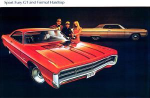 1971 Plymouth Fury GT &Hardtop
