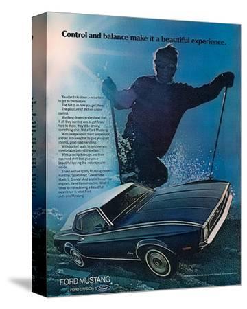 1972 Control & Balance Mustang
