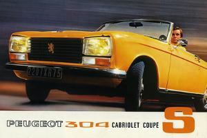 1972 Peugeot 304 Cabriolet S sales brochure