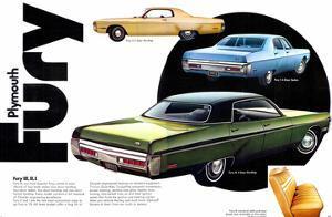 1972 Plymouth Fury III II & I