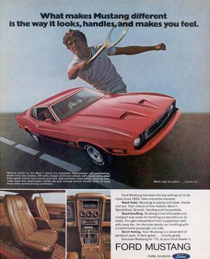 1973 Makes Mustang Different