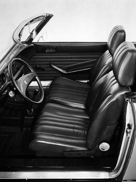 1973 Peugeot 304 Cabriolet S interior