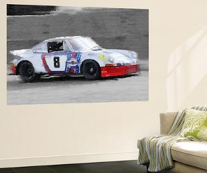 1973 Porsche 911 Watercolor