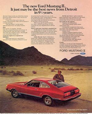 1974 Mustang II Best News