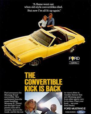 1977 Mustang Convertible Kick