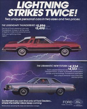 1978 Thunderbird Lightning