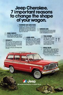 1980 Jeep Cherokee - Reasons