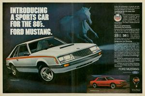 1980 Mustang '80S Sports Car