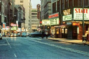 1980s Combat Zone Adult Entertainment Area Boston Massachusetts