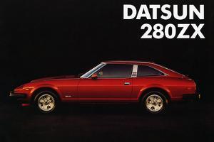 1981 Datsun 280ZX sales brochure