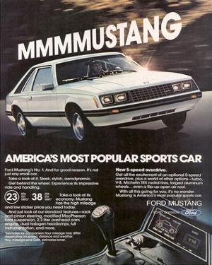1981 Mustang - Most Popular