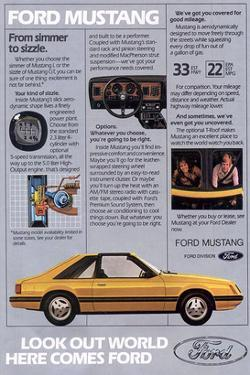 1981 Mustang-Simmer to Sizzle