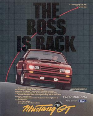 1982 Mustang the Boss is Back