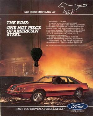 1983 Mustang American Steel