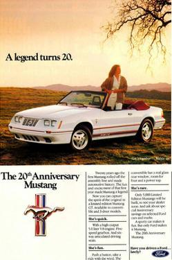 1984 Ford Mustang GT 20Th