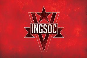 1984 INGSOC Big Brother Political Flag