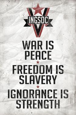 1984 INGSOC Big Brother Political Slogans