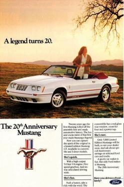 1984 Mustang GT 20th