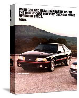 1987 Mustang 10 Best Cars