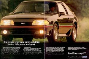 1988 Mustang More Out of Life