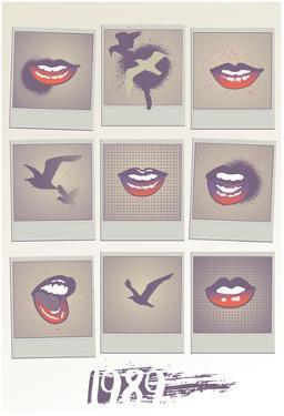 1989 Lips Grid