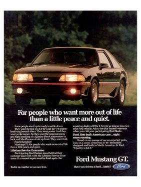 1989 Mustang People Want More