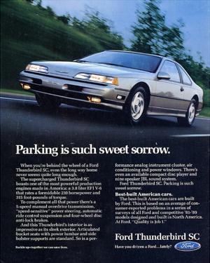 1990 Thunderbird Sweet Sorrow