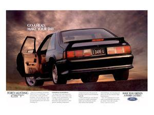 1992 Mustang - I Dare You