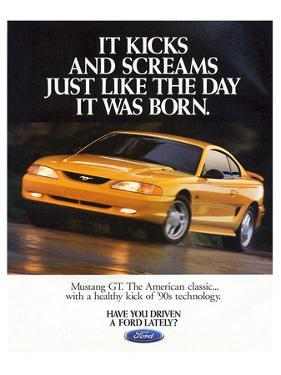 1995Mustang-It Kicks & Screams