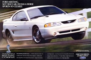 1996 Mustang-Not Since Mr. Ed