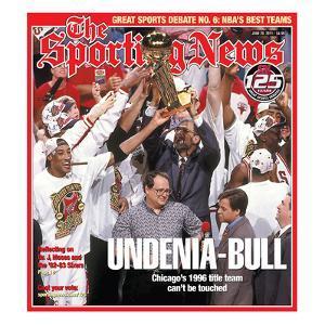 1996 NBA Champion Chicago Bulls - SN125 - June 20, 2011